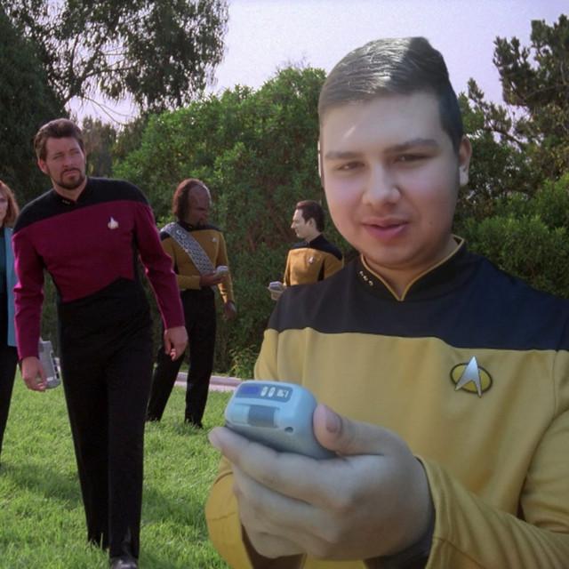 Star Trek met Jan