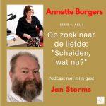 'Scheiden, wat nu?' Jan Storms in gesprek met Op Zoek Naar De Liefde, serie 6, afl.3