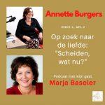 'Scheiden, wat nu?' Marja Baseler in Op Zoek Naar De Liefde, serie 6, afl.2