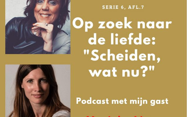 'Scheiden, wat nu?' Marieke LIps in gesprek met Op Zoek Naar De Liefde, serie 6, afl. 7