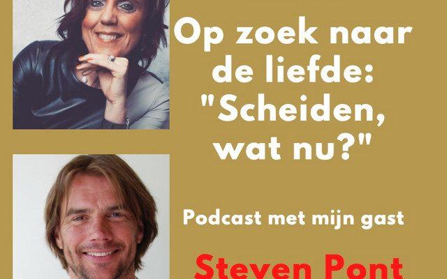 #60 Op Zoek Naar De Liefde met 'Scheiden, wat nu?' in gesprek met Steven Pont, serie 6, afl.8