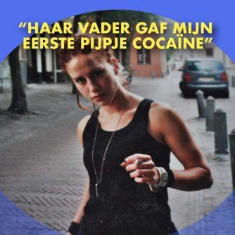 Als DRUGSVERSLAAFDE en DAKLOZE vrouw op STRAAT!